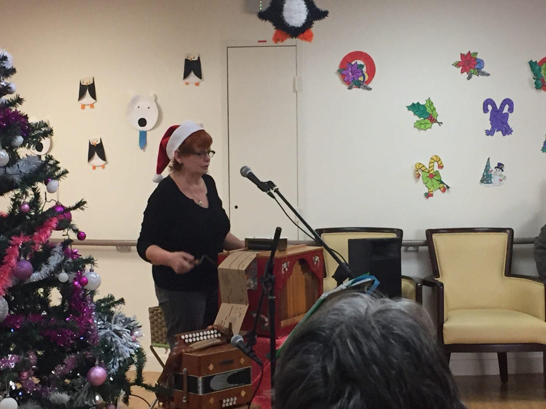 Goûter de Noël Upad les pivoines à Coulaines