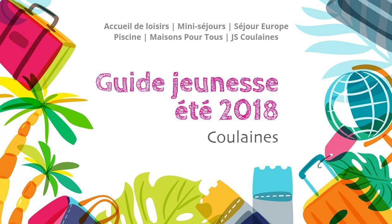 Bandeau Guide jeunesse été 2018 Coulaines