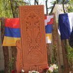 stèle_commémorative_génocide_arménien_Coulaines_avril_2018