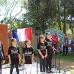 inauguration stèle génocide arménien Coulaines Avril 2018