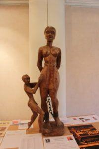 Sculpture de bois, Mairie de Coulaines