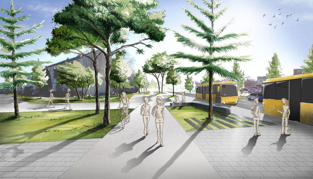 Aménagement boulevard Coulaines