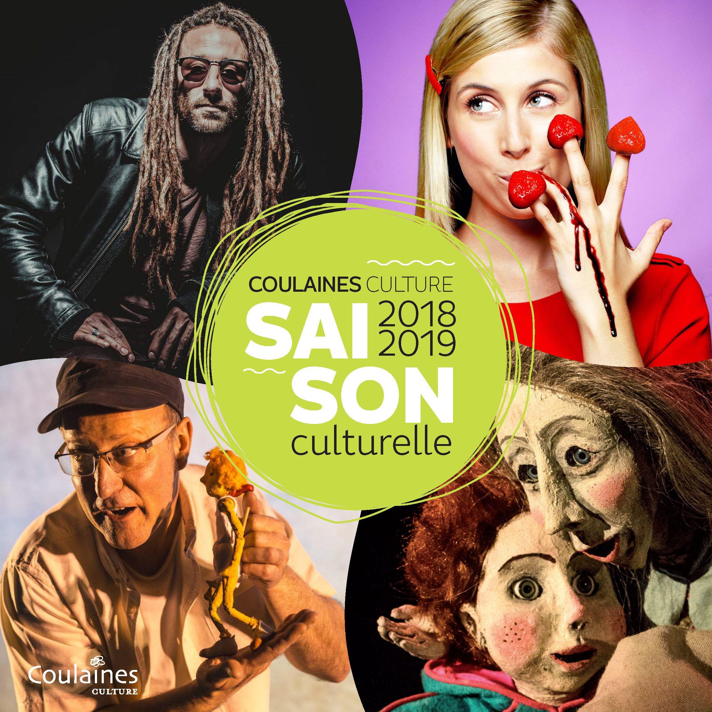 Couv_Agenda culturel Coulaines 2018-19